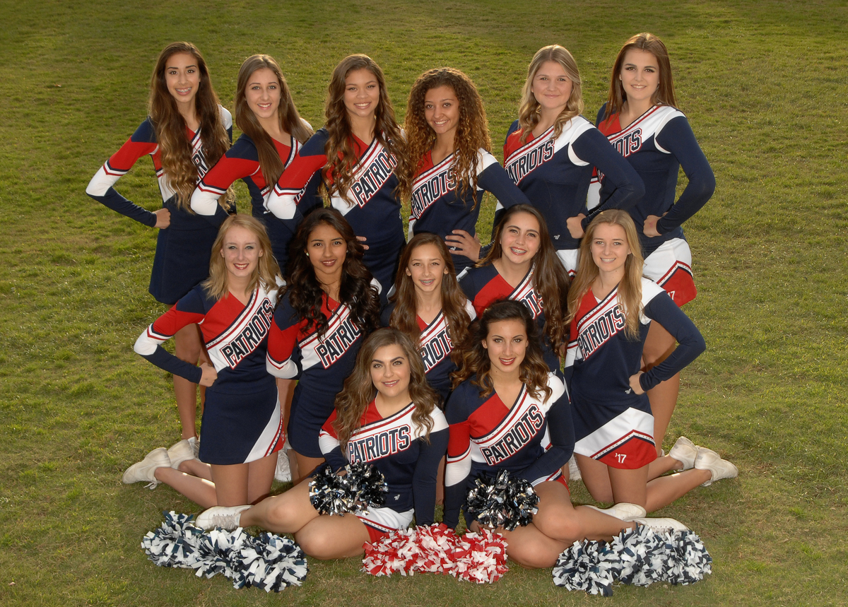 Varsity cheer 2014